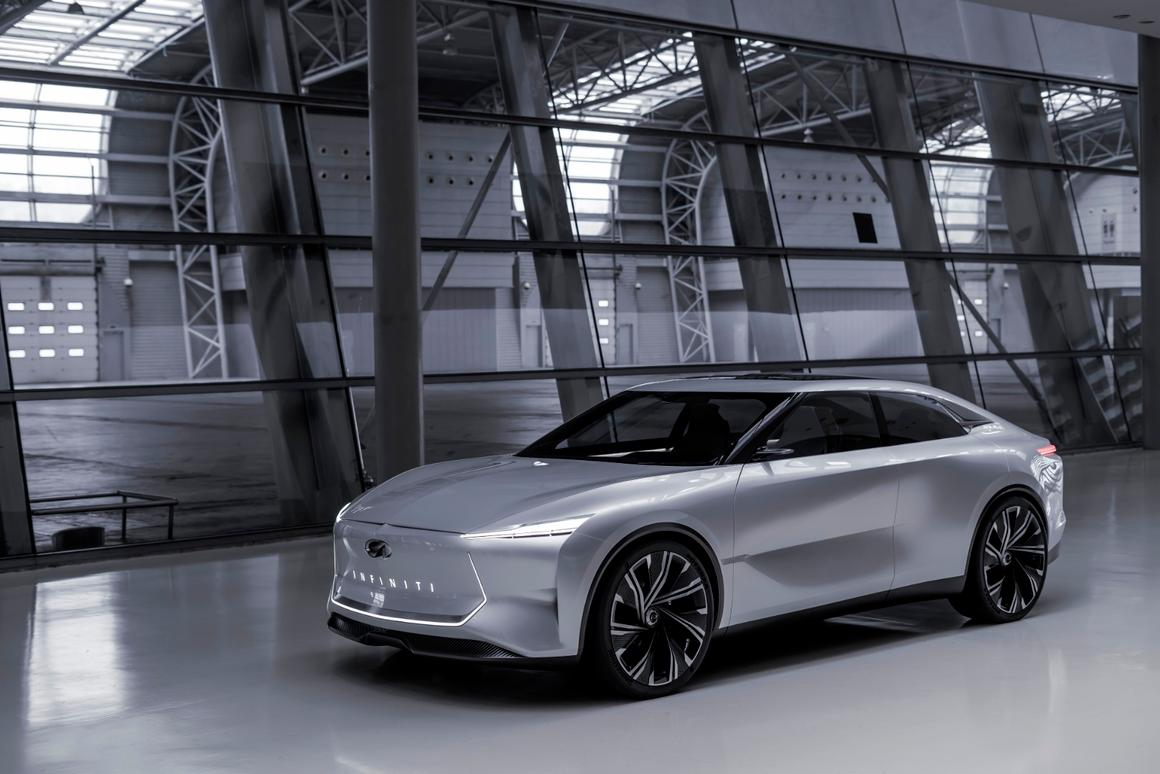 Infiniti has promised that the concept previews a forthcoming production model