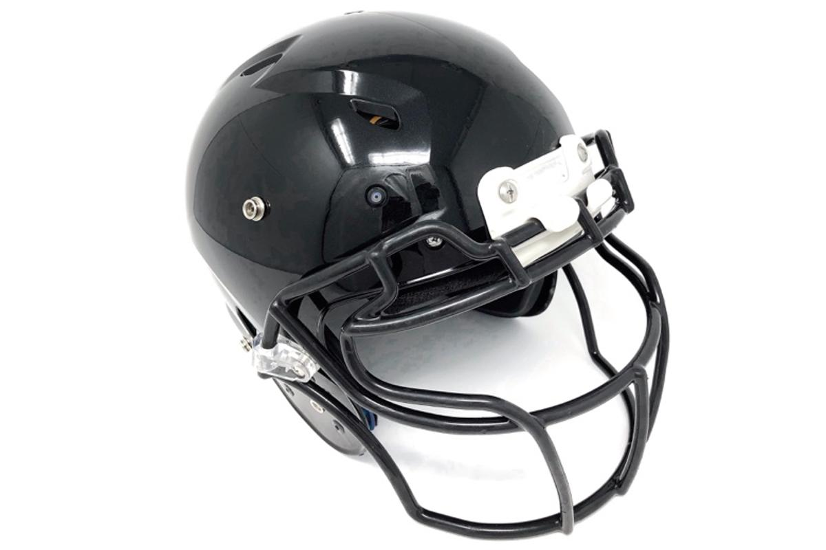 The prototype helmet utilizes four 1080p/30fps cameras