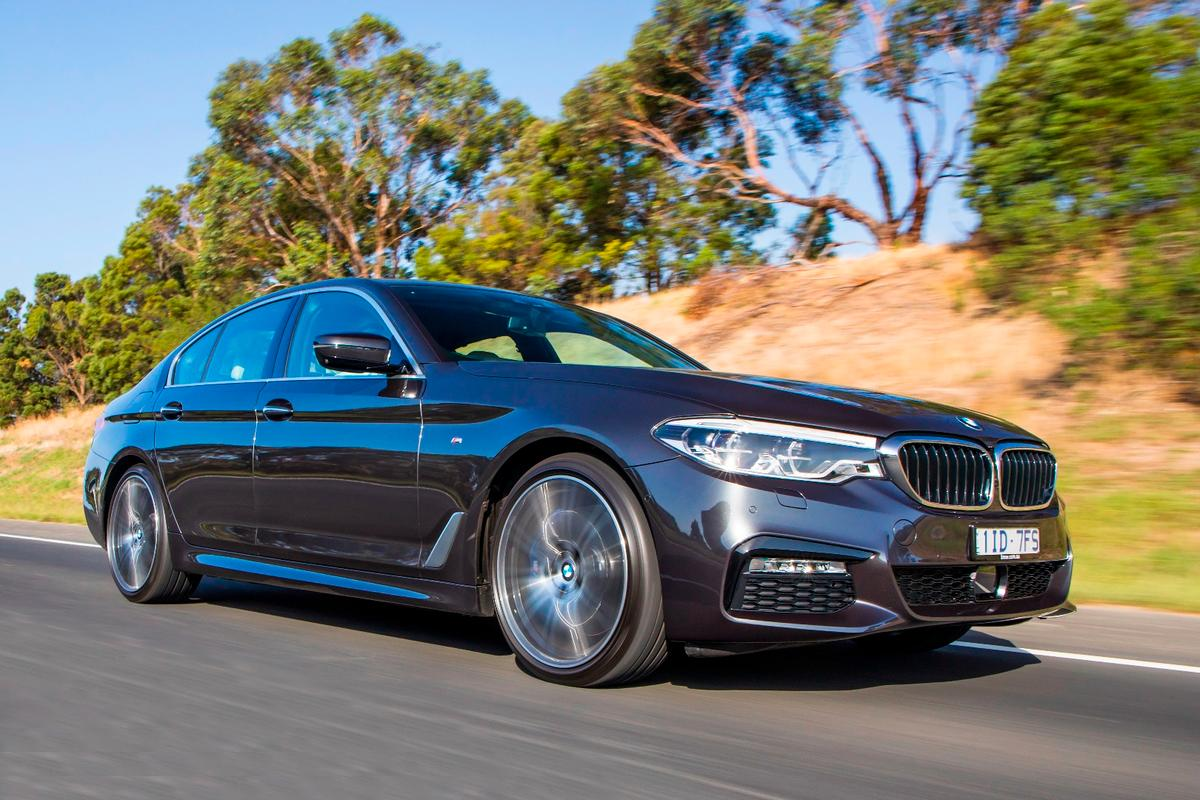 The flagship 540i lives up to expectations on the open road