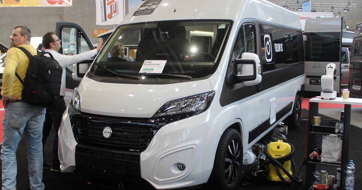 Camp-Line's connected camper van is an ultramodern lounge on wheels