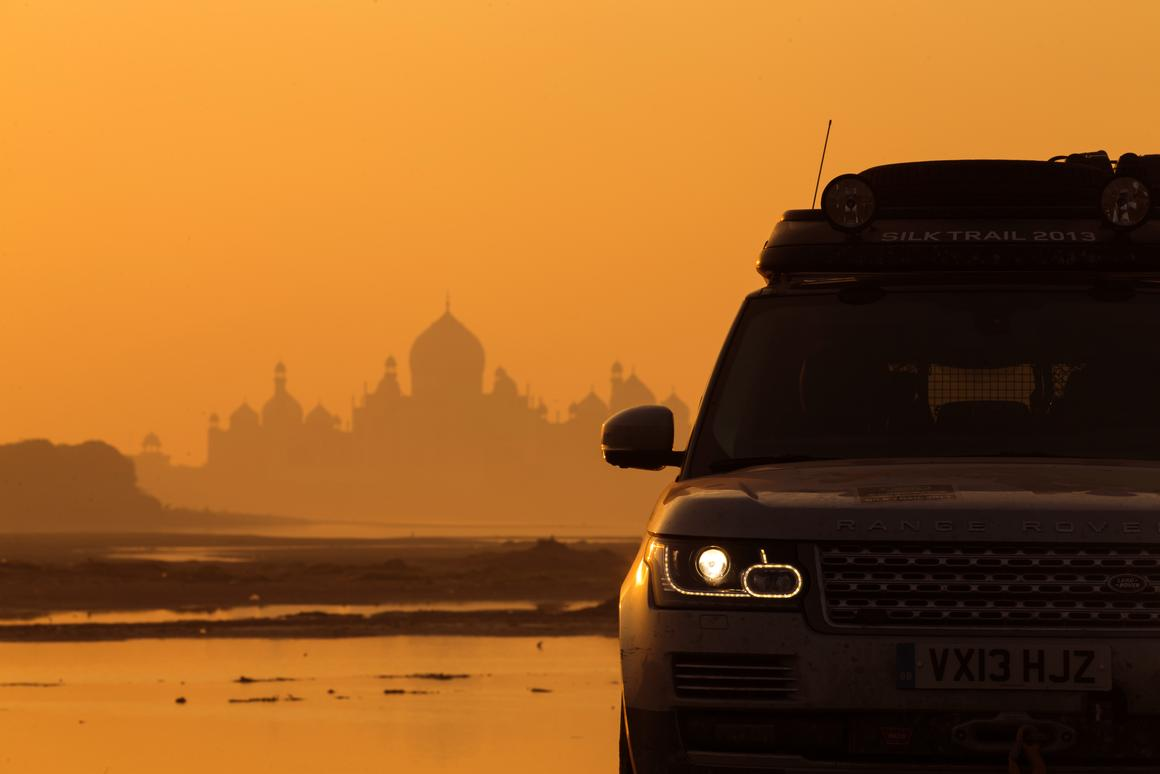 Land Rover's Silk Road 2013 expedition