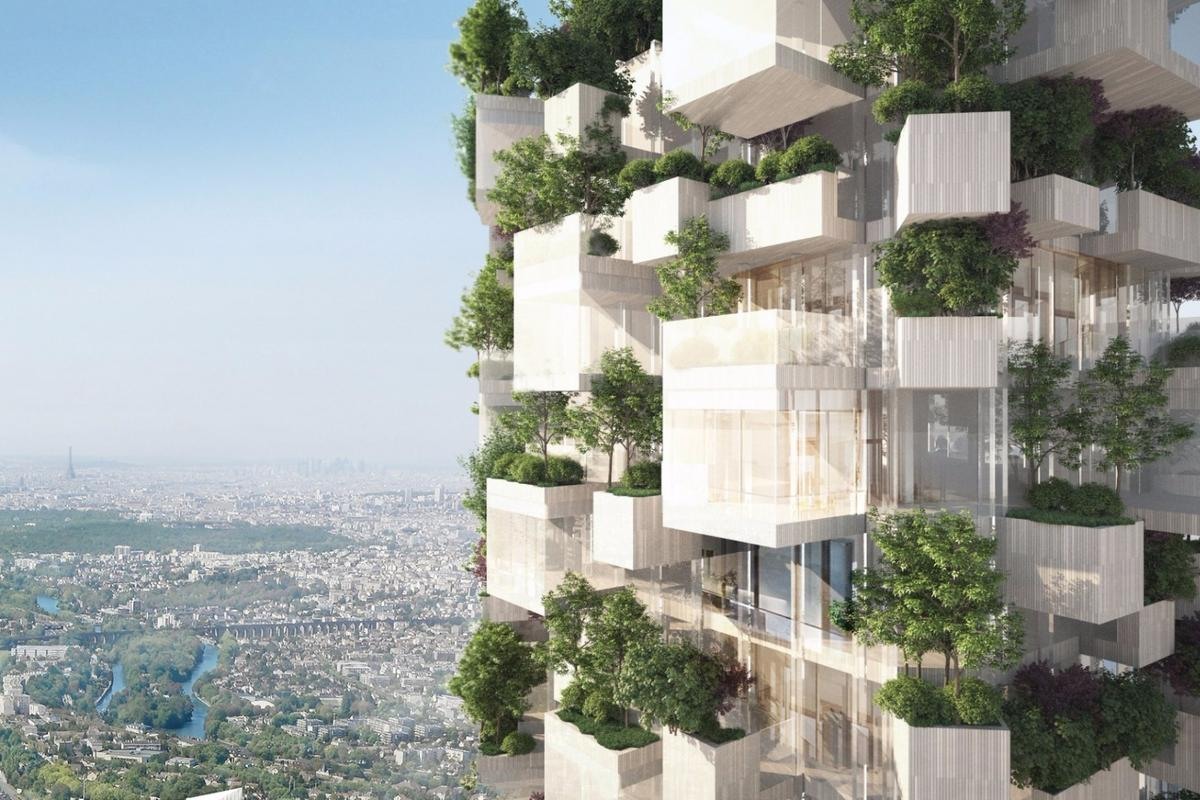 Stefano Boeri Architetti's newly announced Forêt Blanche tower will be covered in 2,000 plants
