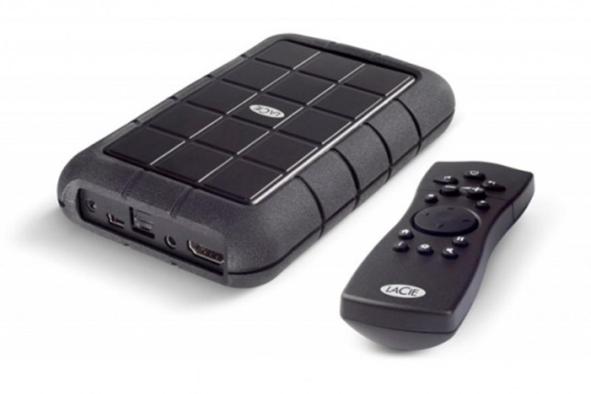 LaCinema Rugged with remote control