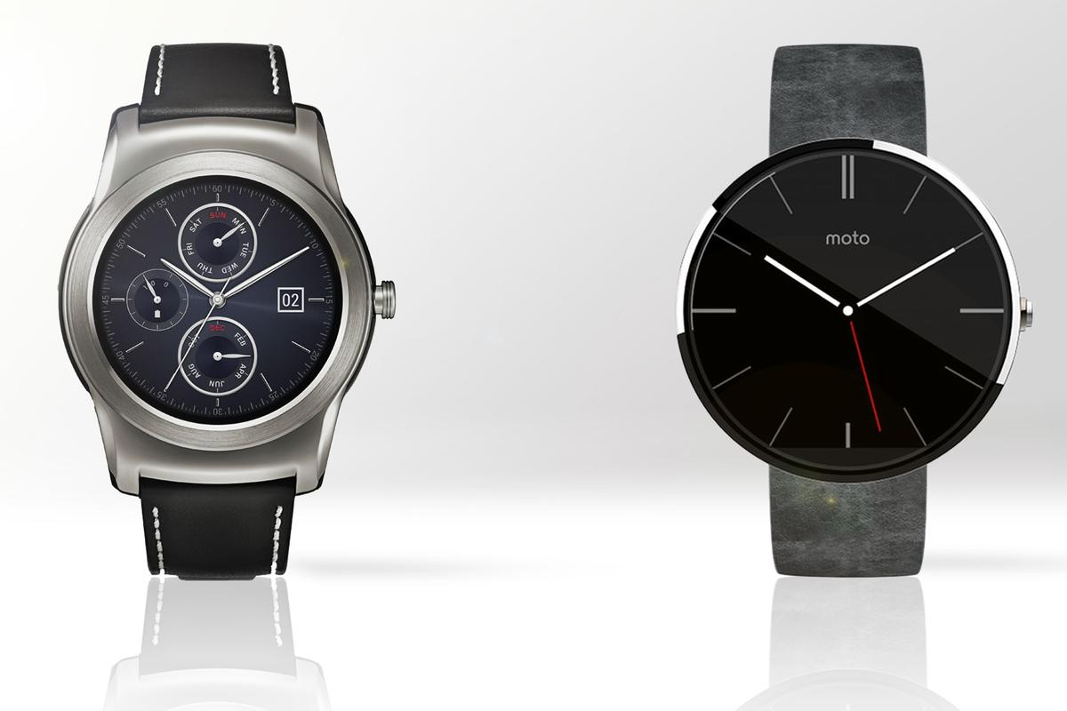 Gizmag compares the features and specs of LG's new Watch Urbane (left) and the Moto 360