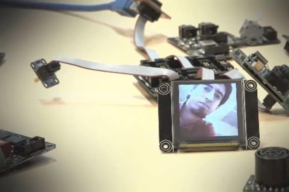 .NET Gadgeteer's sample camera built by Nicholas Villar