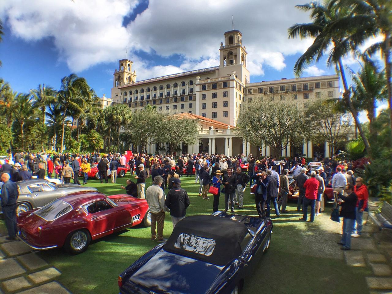 Held on the lawn at The Breakers Palm Beach, the Cavallino Classic's Concours d'Eleganza is just that, truly elegant