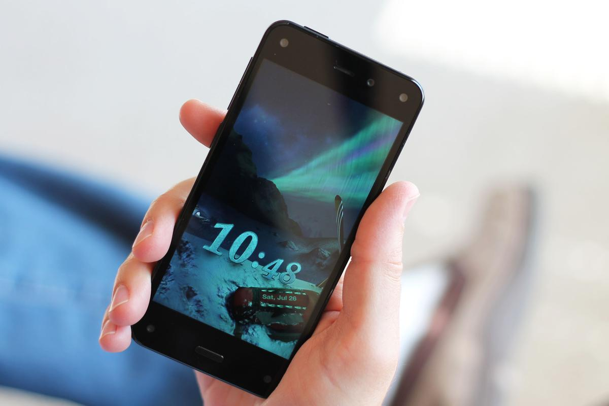 Gizmag reviews Amazon's first smartphone, the Fire Phone