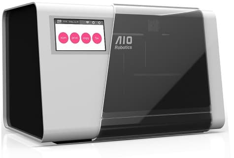 Zeus, the world's first all-in-one 3d copy machine from AIO Robotics