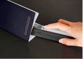 The portable VuPoint Solutions Magic Wand A4 color scanner