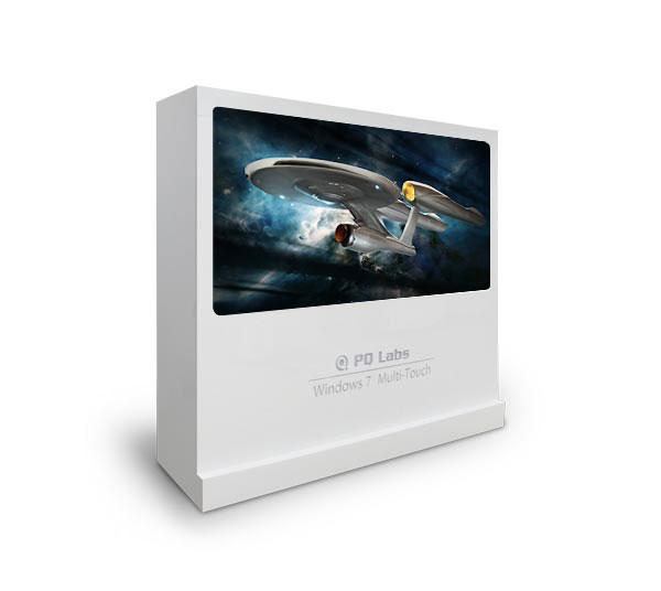 Custom screens up to 200 inches are available for use as presentation walls or broadcast displays