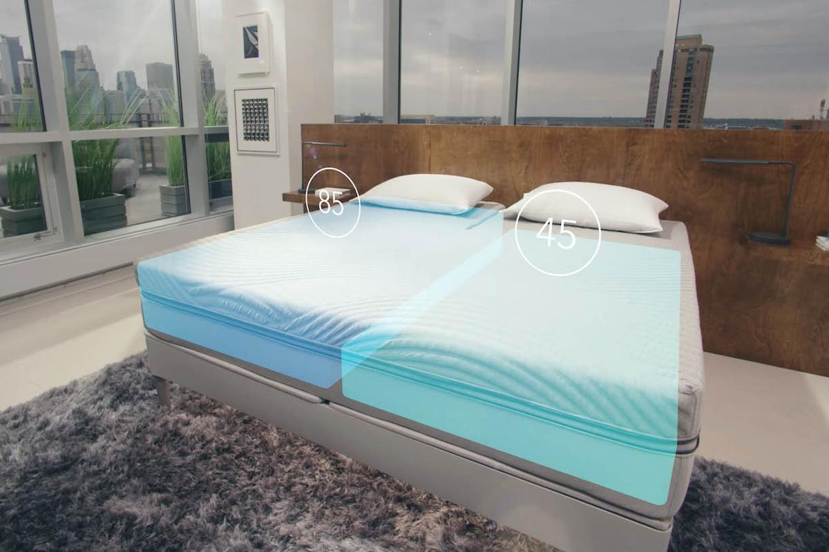 The bed'sbiometric sensors are claimed to detect snoring in which case the bed will automatically raise the user's head seven degrees