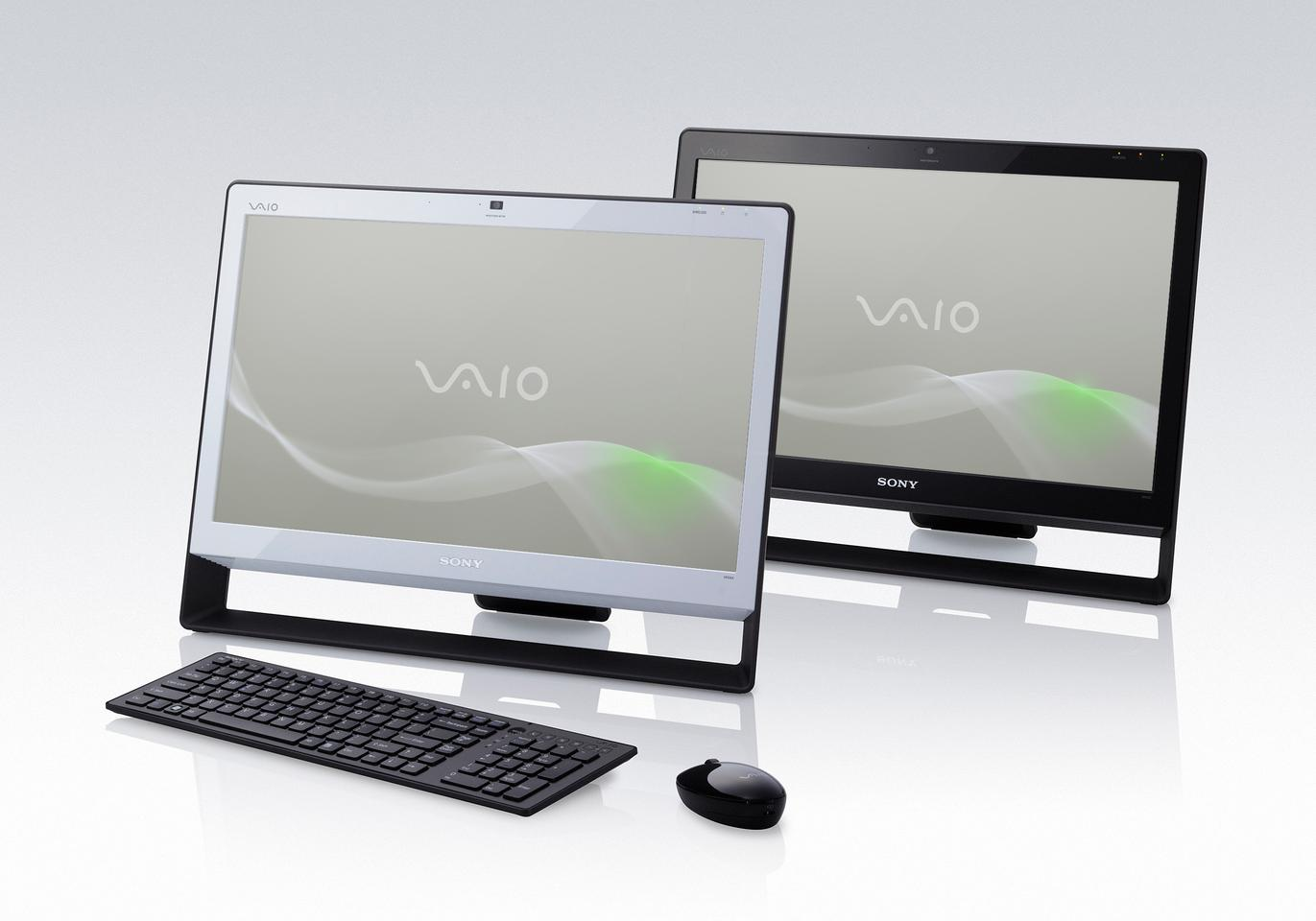 The VAIO J Series PC has a 21.5 inch multi-touch HD display and is powered by the latest Intel Core processors and GeForce graphics