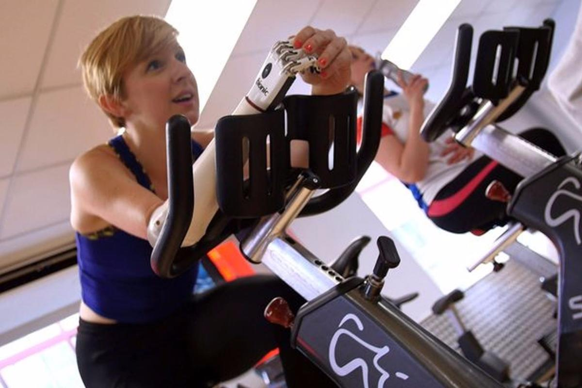Nicky Ashwell is now able to pursue more fitness activities thanks to the fitting of the bebionic small hand