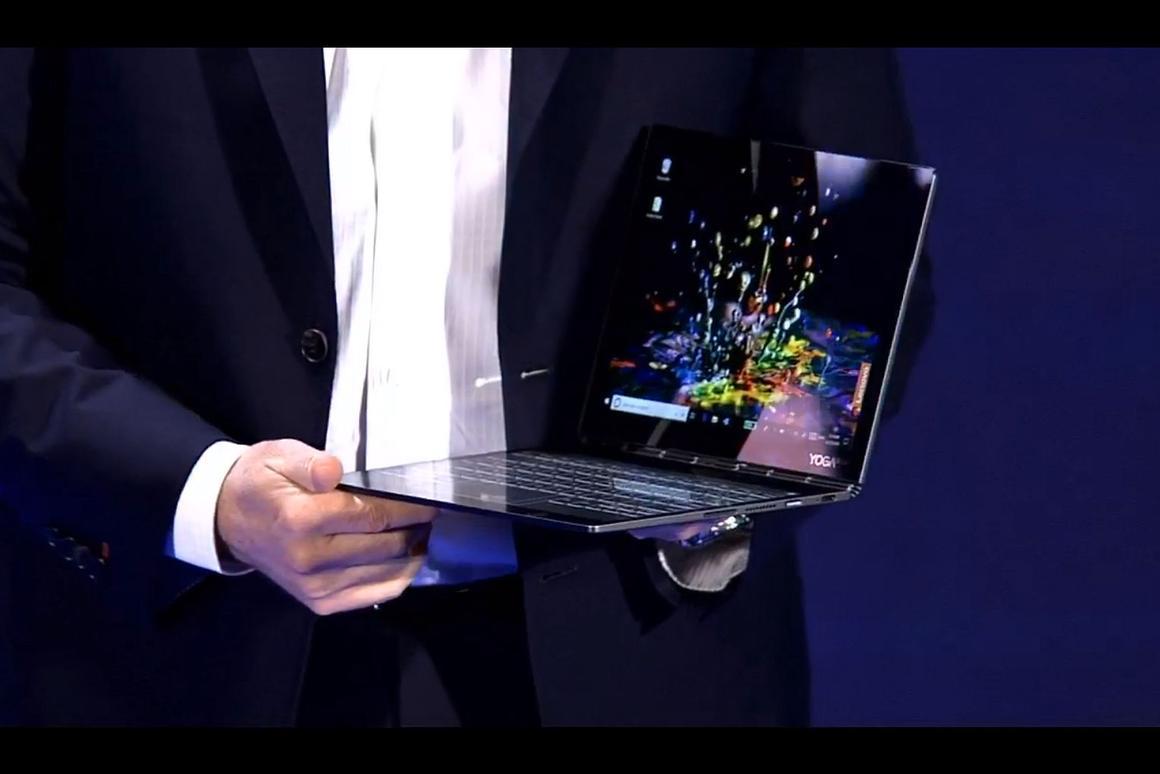 First look at Lenovo's upcoming Yoga Book 2 at Computex 2018