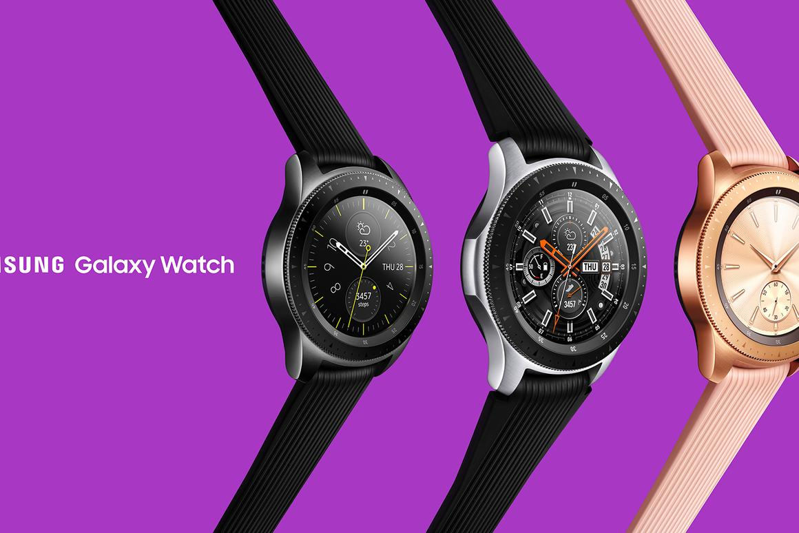 The Galaxy Watch is Samsung's newest wearable, available in two sizes
