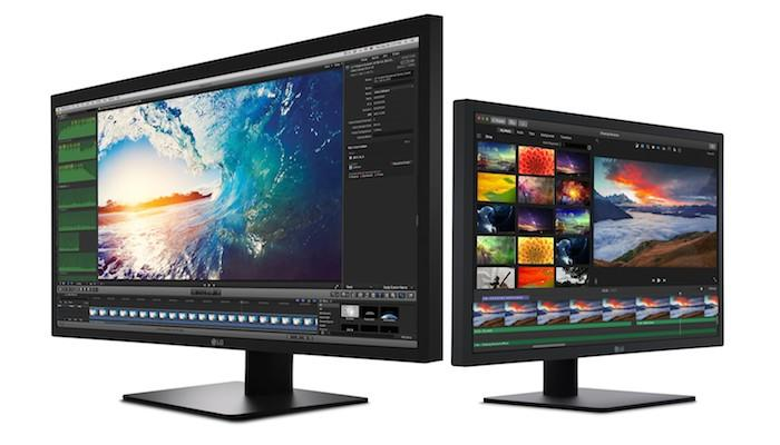LG has unveiled two new UltraFine monitors designed to work with the new MacBook Pro models:a 27-inch 5K display, and a 4Kone at21.5in