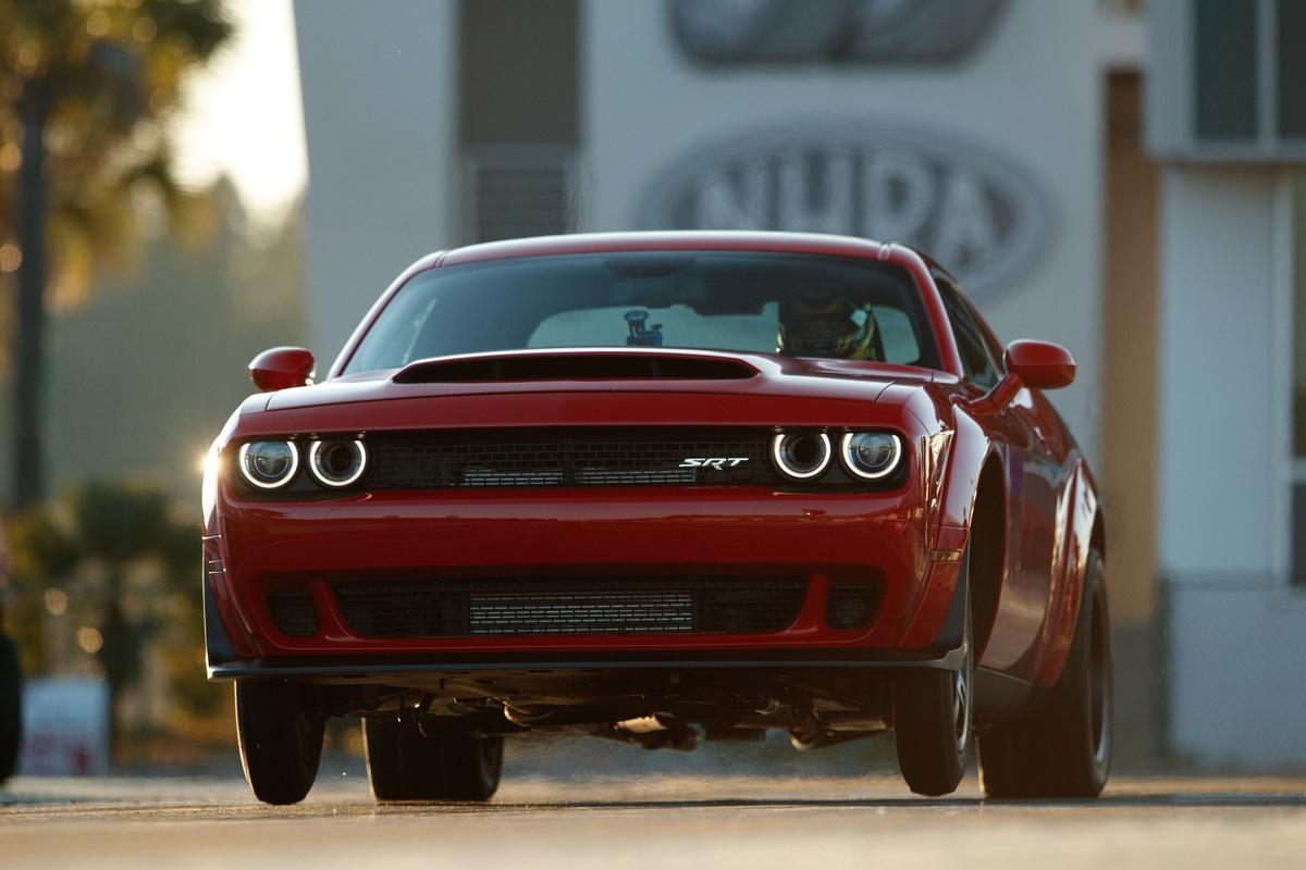 The Dodge Challenger SRTDemon