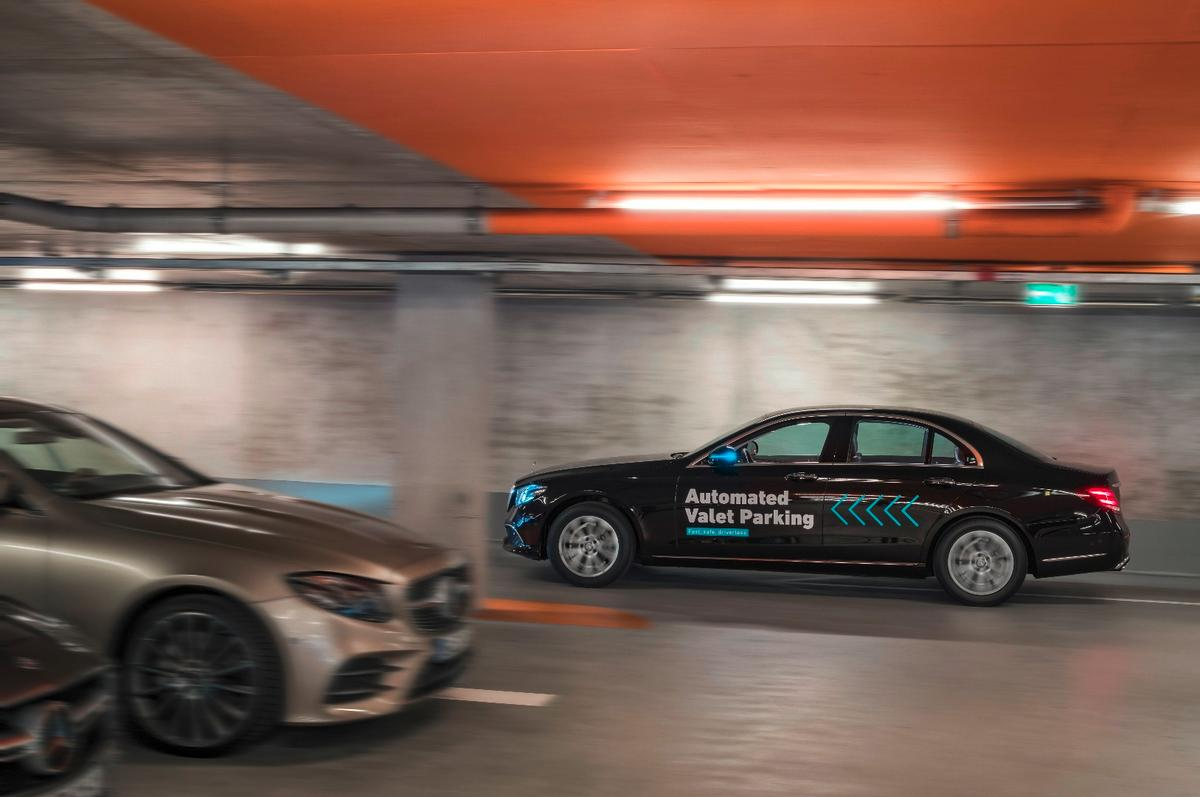 Daimler says that in 2018, the valet service will be available for all visitors to the Mercedes-Benz museum in Stuttgart
