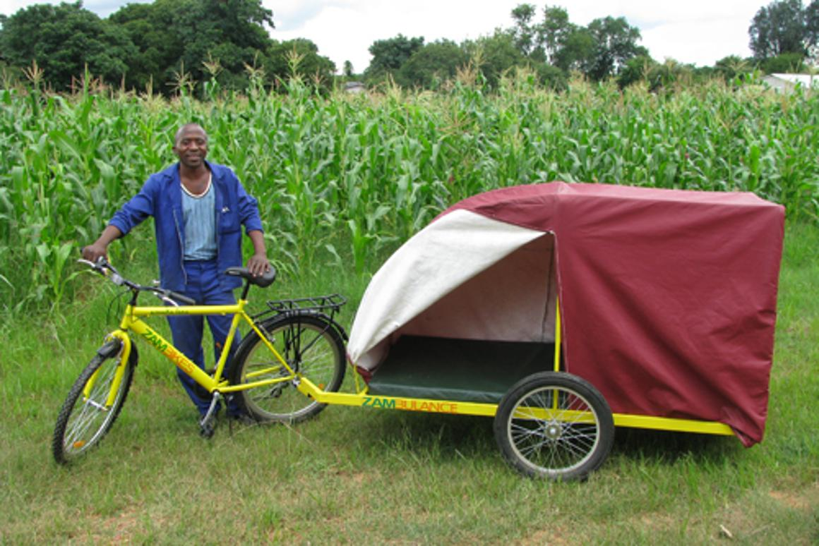 The Zambulance provides medical transportation to people in developing nations