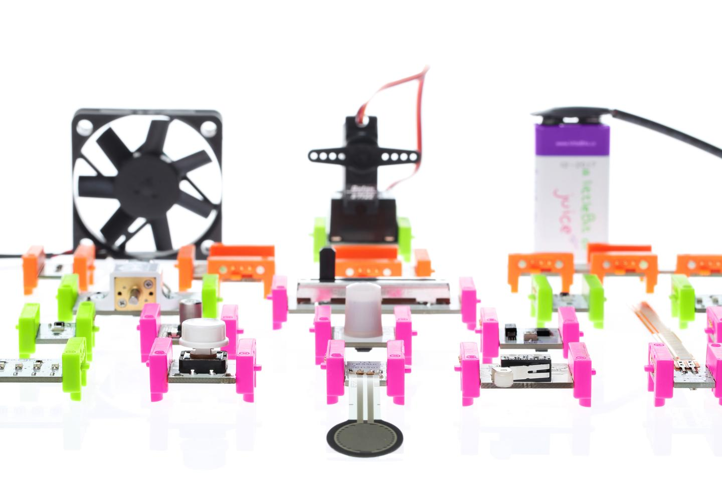 littleBits electronic building blocks lets kids and adults create simple circuits or inventive projects (Photo: littleBits)