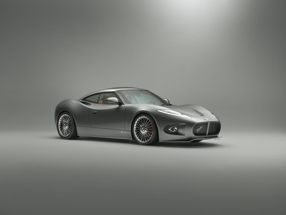 The Spyker B6 Venator concept debuts in Geneva