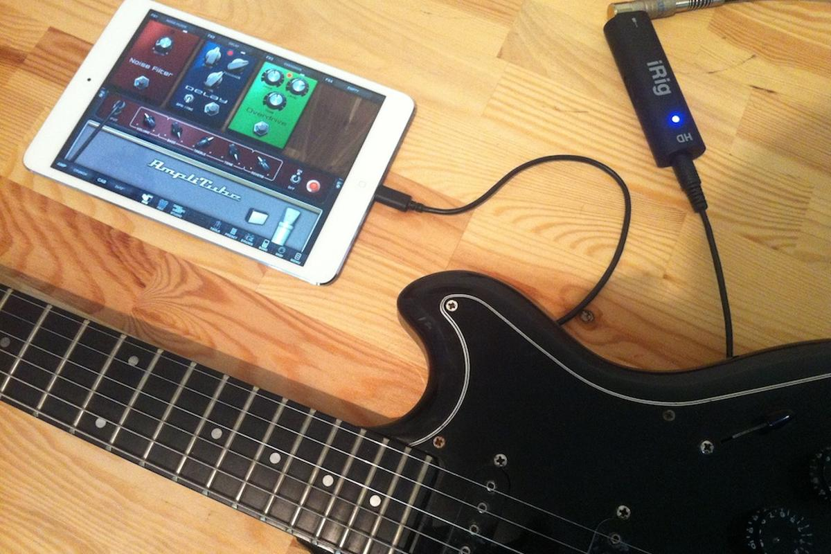 Gizmag goes hands-on with IK Multimedia's iRig HD and AmpliTube
