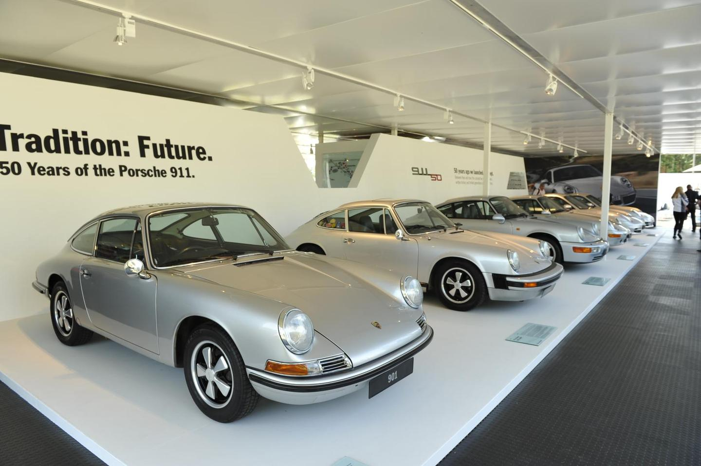 Porsche celebrates 50 years of the 911 at the Festival of Speed