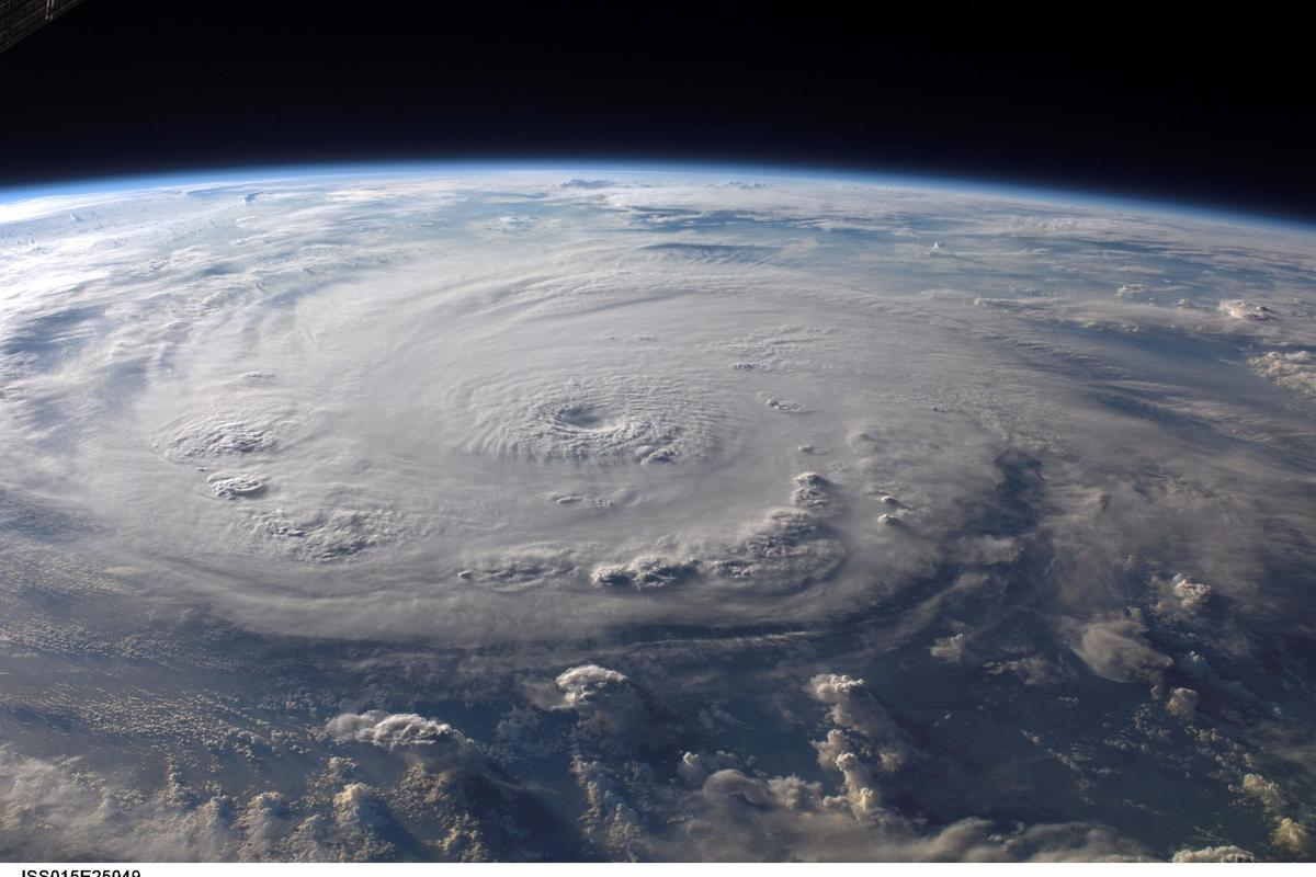 The best place to monitor a hurricane is likely rightinside it