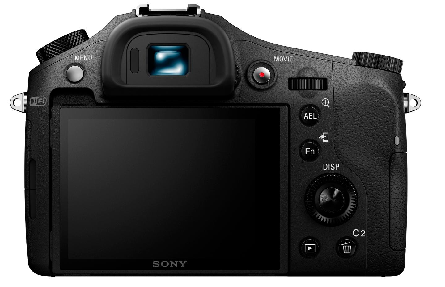The Sony Cyber-shot RX10 II uses a new one-inch-type stacked Exmor RS CMOS sensor with an effective 20.2-megapixels