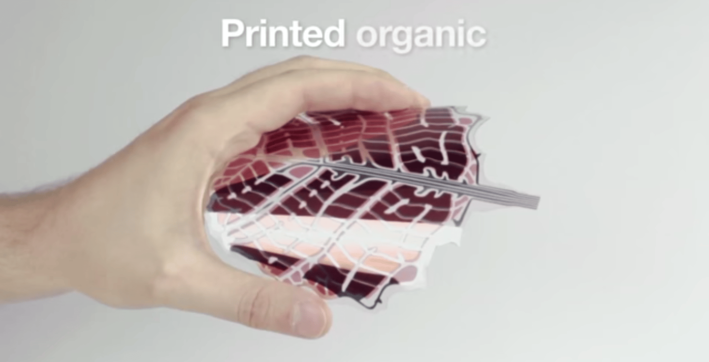 The cells are flexible and can be mass produced