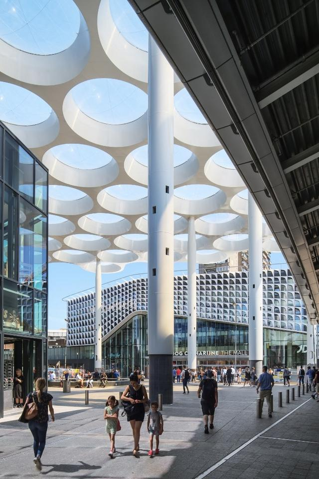 The enormous project is part of a grand scale redevelopment of the Utrecht Central station in the Netherlands