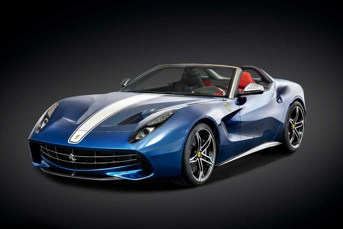 A V12 engine allows the F60 to sprint from 0-62 mph (100 km/h) in just 3.1 seconds