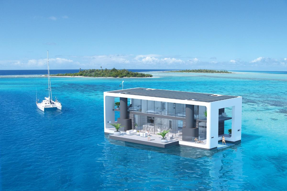 Arkup liveable yacht concept: take it somewhere beautiful as the ultimate home base