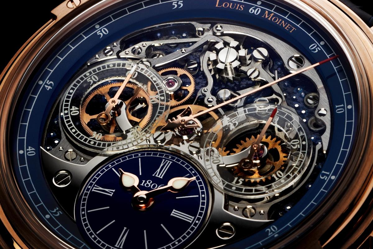 The Memoris Anniversaire celebrates the 200th anniversary of the stopwatch