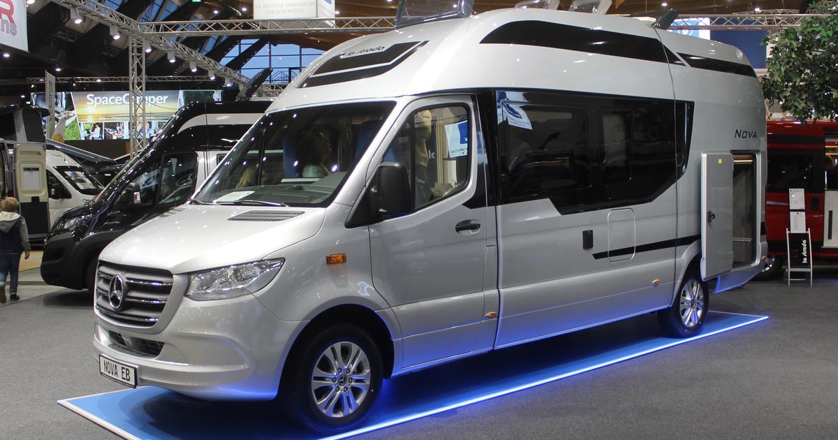 La Strada goes beyond the van with plus-sized monocoque camper van