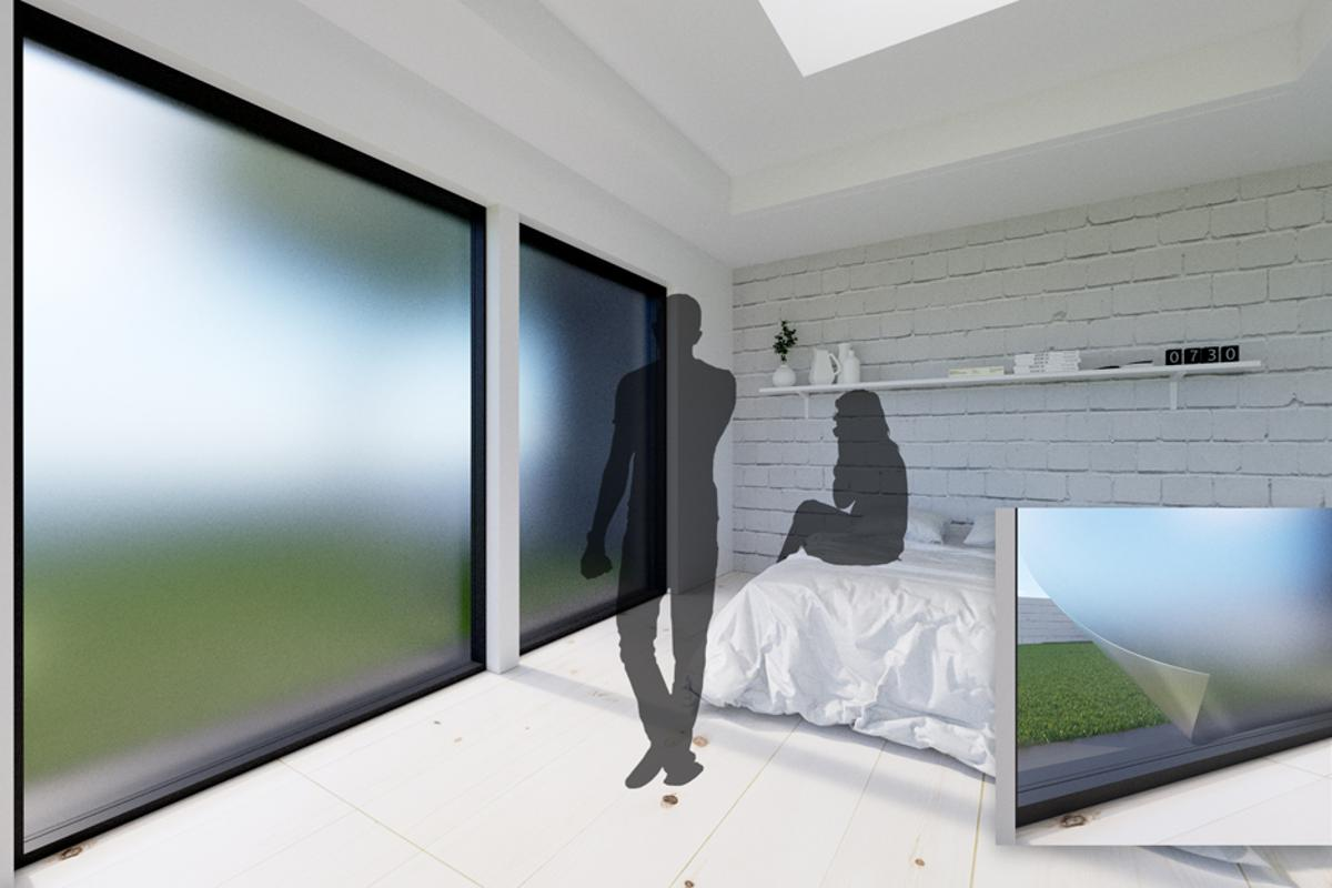 Imagine if you could turn up the opacity for a bit of privacy, just as you would with regular blinds, without compromising on brightness?