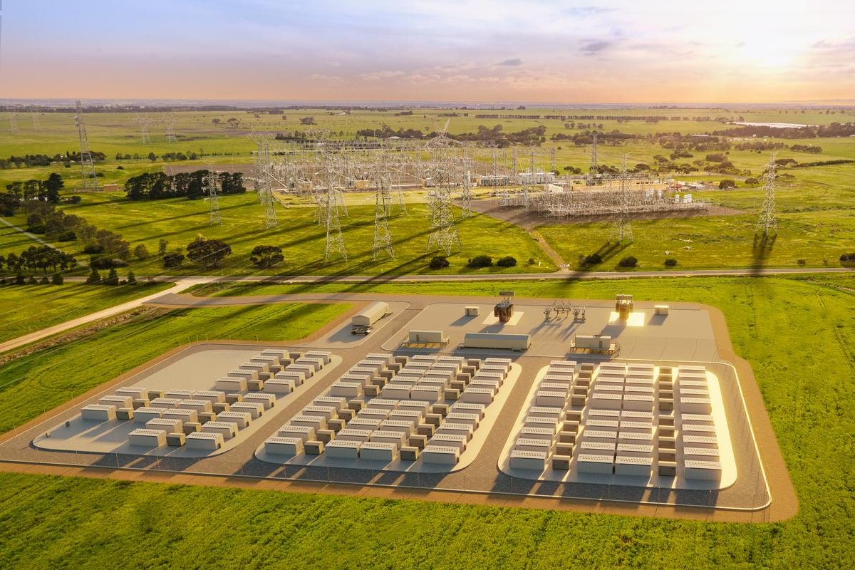 A monster 300-megawatt battery pack is to be built outside Geelong, Australia, to accelerate the transition to renewables while stabilizing the power grid