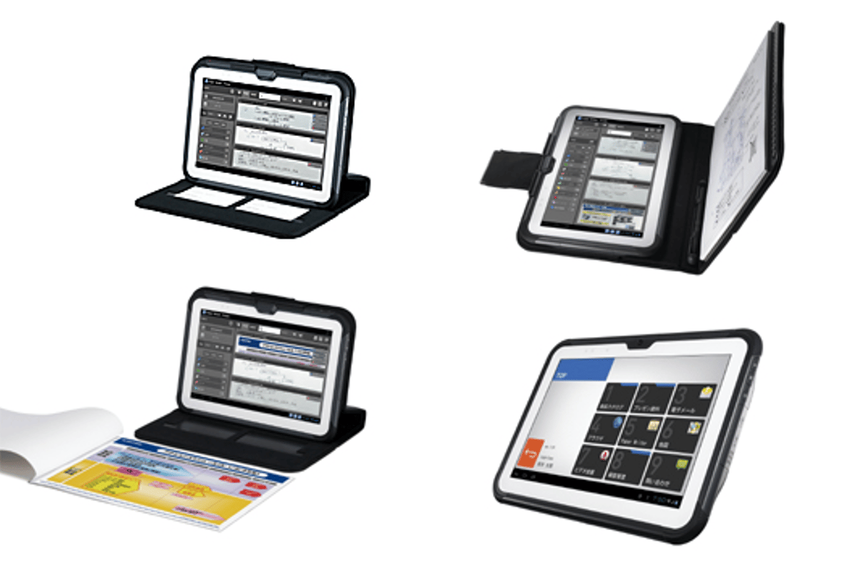The Casio Paper Writer tablets have one foot in the paper past, one in the touchscreen future