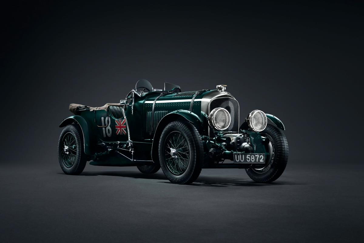 That supercharger on the front represents one very stubborn man's vision for racing Bentleys of the late 1920s