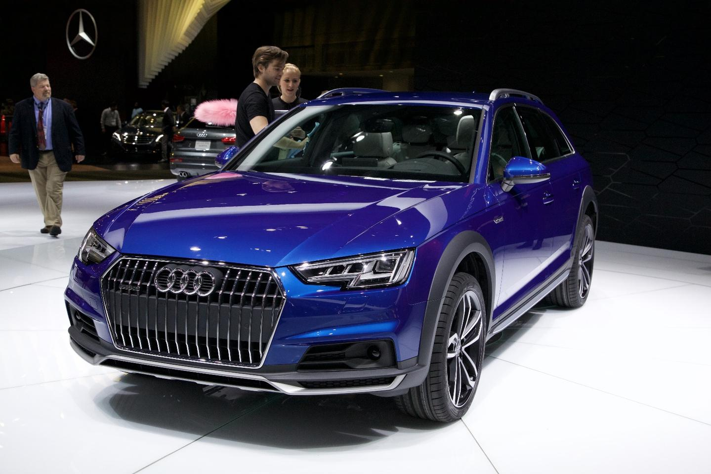 The Audi A4 Allroad made its debut in Detroit, and will take the fight to the ever-growing crowd of SUVs in showrooms