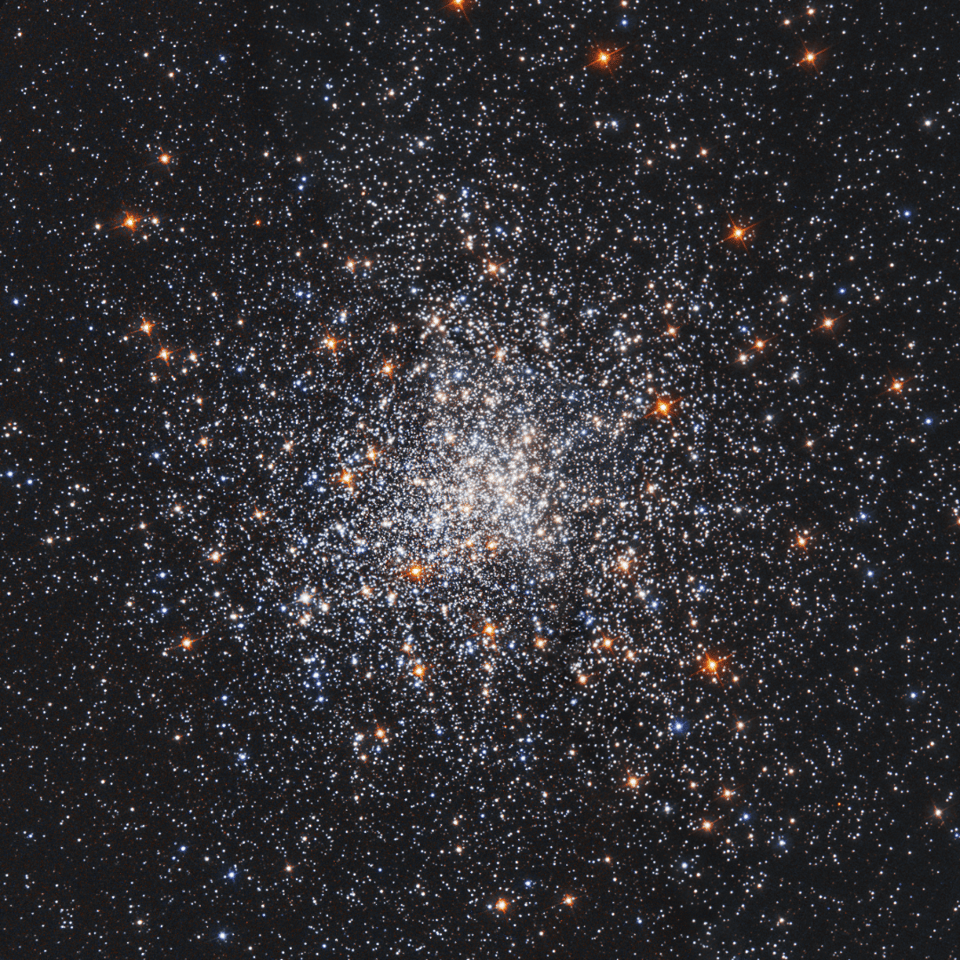The globular star cluster Messier 79, or M79, located 41,000 light-years from Earth, in the constellation Lepus