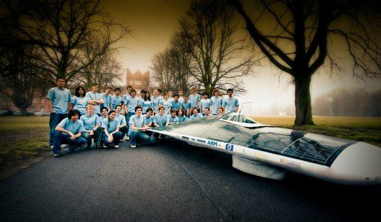 Cambridge students gearing up to represent England in the 2011 World Solar Challange with Endeavour.