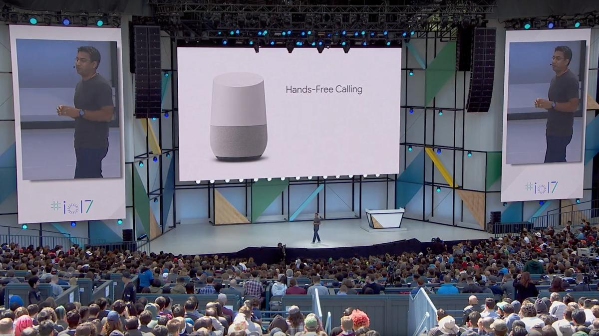 Like its main competitor, Amazon Echo,Google announced that Google Home will support hands-free calling in the coming months