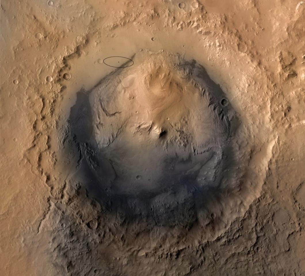 The Gale Crater