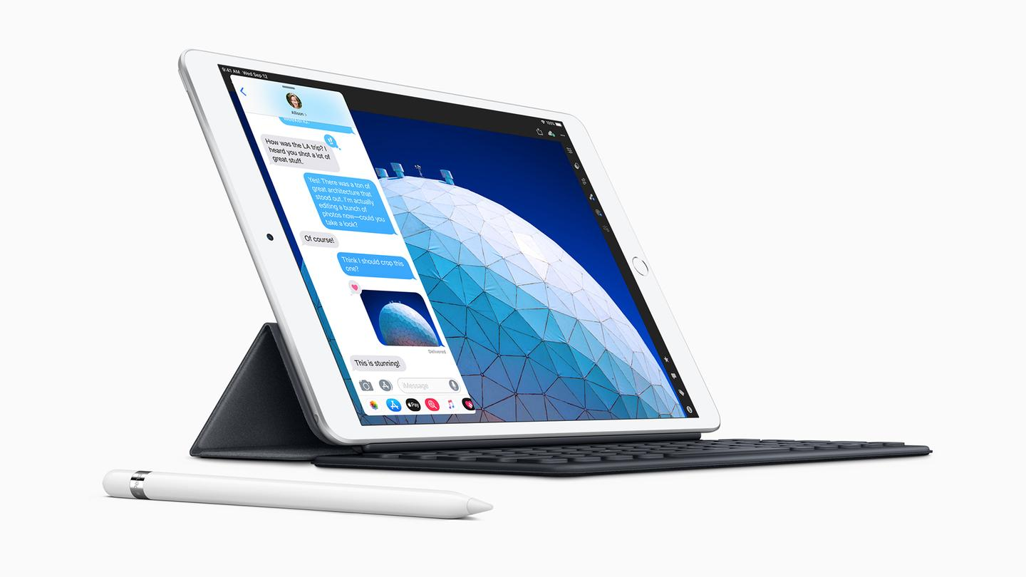 The third iPad Air adds faster internals and Apple Pencil support