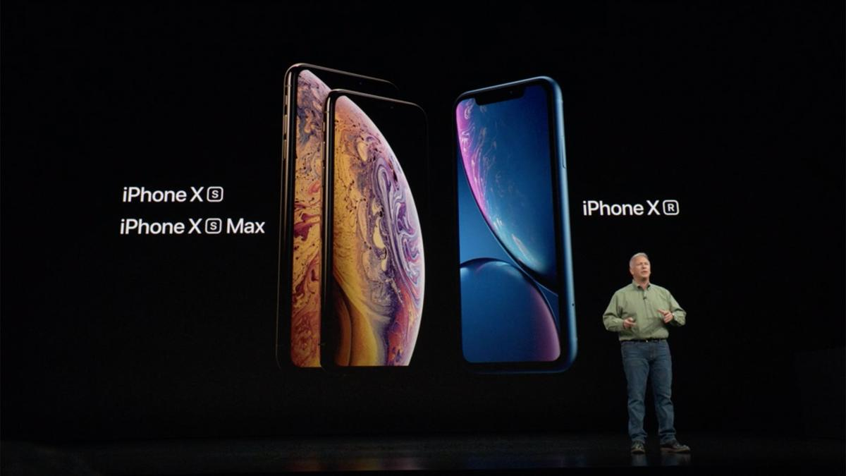 Apple's Phil Schiller introduces the iPhone XS, the iPhone XSMax, and the iPhone XR
