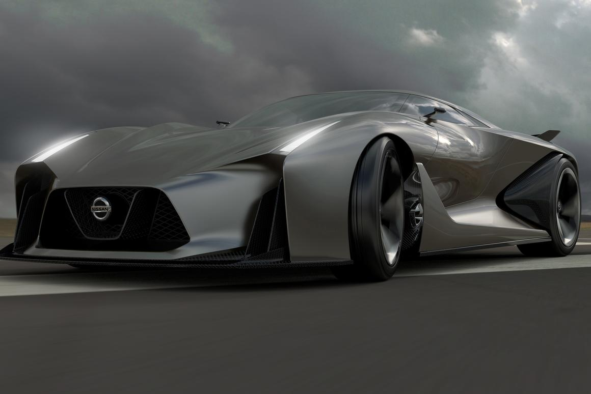 The Concept 2020 Vision Gran Turismo is Nissan's glimpse at the supercar of the future