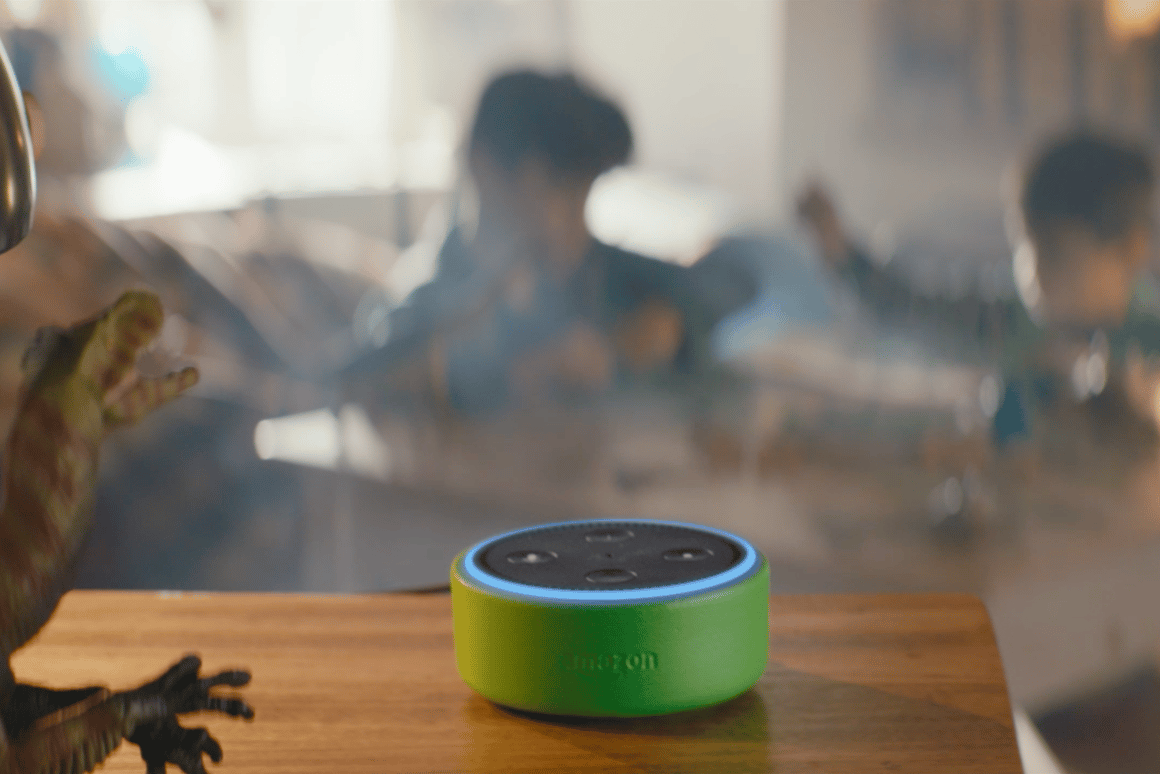 Amazon's new Echo Dot Kids Edition and FreeTime feature is aimed at making Alexa more kid-friendly