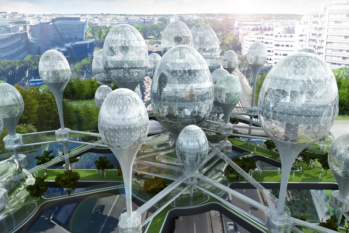 L'air Nouveau de Paris (or New Paris air), by Planning Korea (Image: Planning Korea)