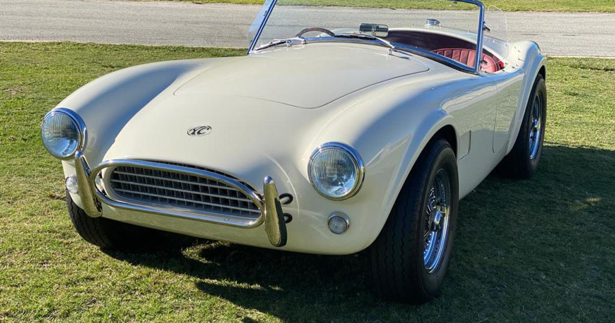 AC Cars wires the original Cobra into an all-electric roadster